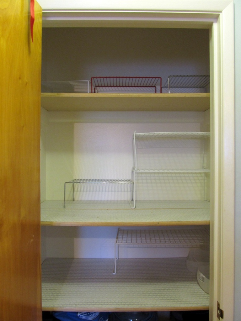 So much space! A good problem to have.it could use more shelves, but I am too cheap for that right now.